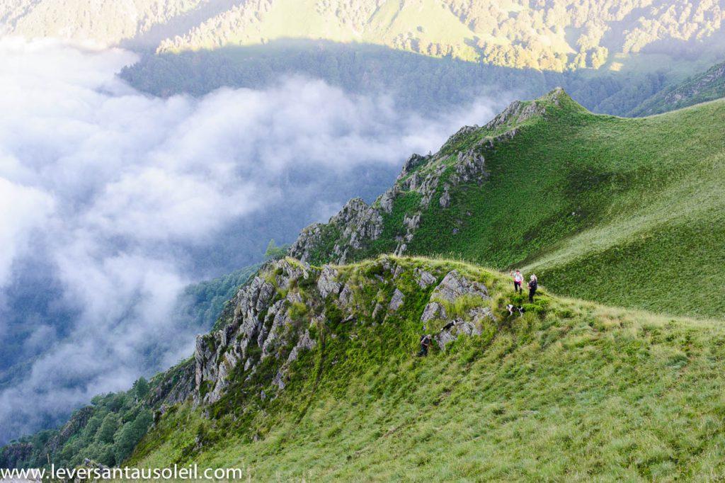Estive montagne de Melles - une pause.